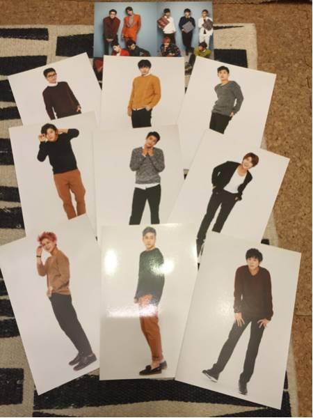 ZE:A 写真 ヒョンシク シワン ドンジュン 全員 ポストカード コンサートグッズの画像