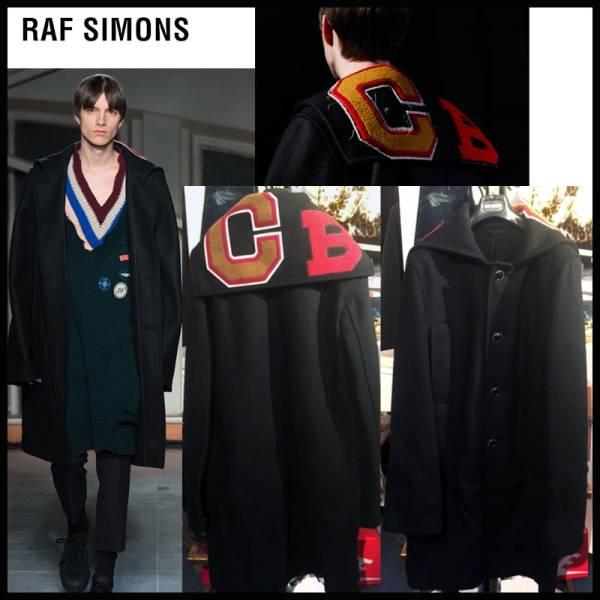 新作★17AW RAF SIMONS ラフシモンズ オーバーコート VETEMENTS