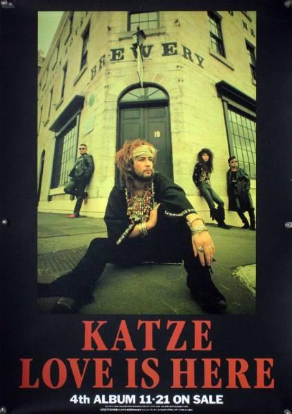 KATZE カッツェ 中村敦 尾上賢 B2ポスター (2B20004)