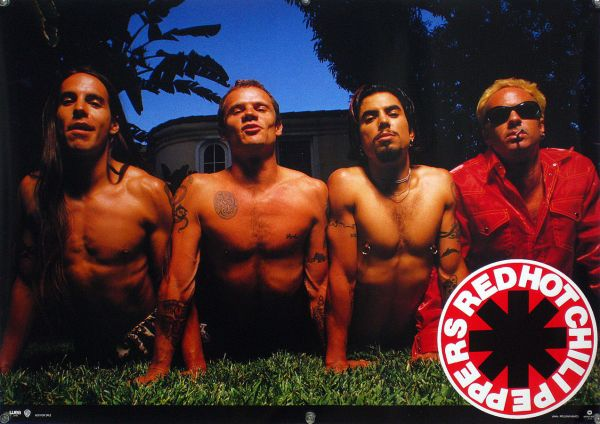RED HOT CHILI PEPPERS レッチリ B2ポスター (19_22)