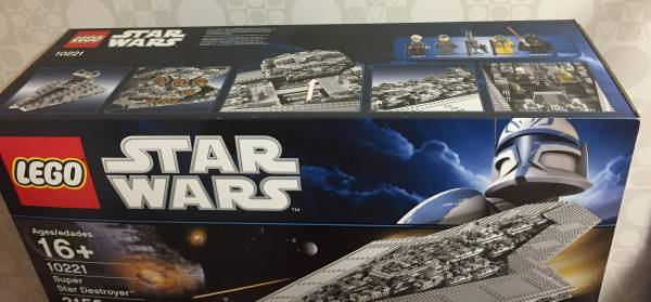 LEGO Star Wars Super Star Destroyer 10221★新品_画像3
