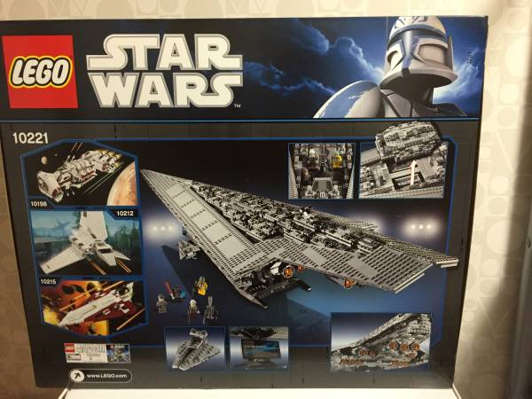 LEGO Star Wars Super Star Destroyer 10221★新品_画像2