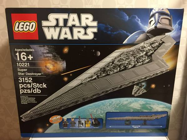 LEGO Star Wars Super Star Destroyer 10221★新品_画像1