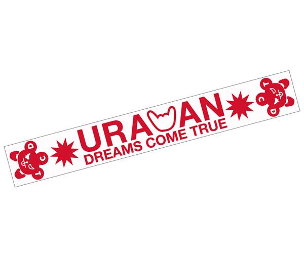 DREAMS COME TRUE ドリカム ウラワン2016 マフラータオル RED
