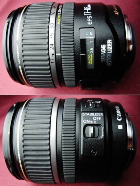 美品 Canon キャノン EF-S17-85mm F4-5.6 IS USM 手ブレ補正付② 35mm判換算27~136mm相当の標準域をカバー 軽量・コンパクトで旅行に最適_美品です。