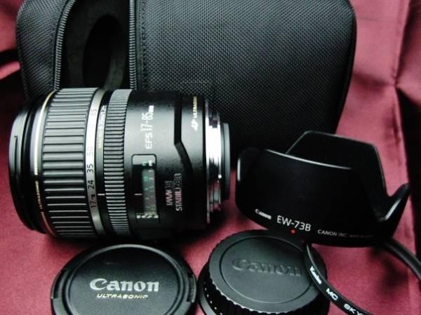 美品 Canonキャノン EF-S17-85mm F4-5.6 IS USM 手ブレ補正付