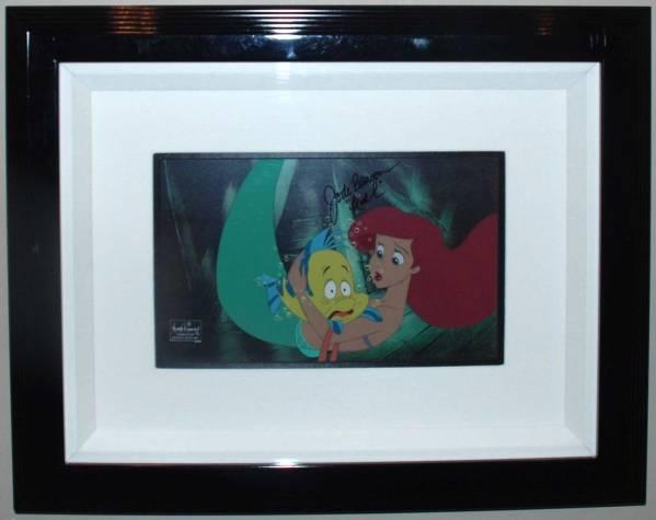 ディズニー リトルマーメイド アリエル セル画 限定 レア Disney ディズニーグッズの画像