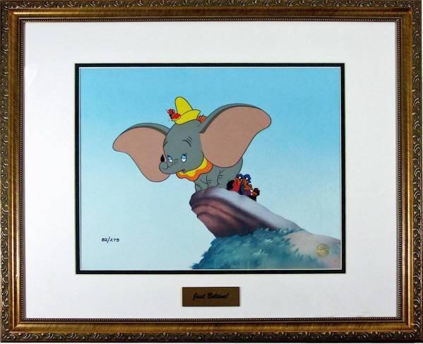 ディズニー ダンボ セル画 限定 レア Disney 入手困難 ディズニーグッズの画像