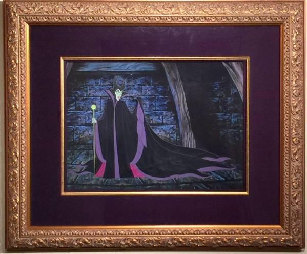 ディズニー 眠れる森の美女 マレフィセント セル画 限定 Disney ディズニーグッズの画像