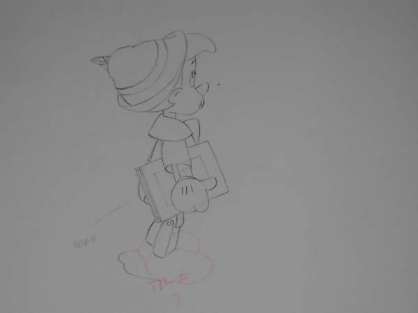 ディズニー ピノキオ セル画 原画 限定 レア Disney 入手困難 ディズニーグッズの画像