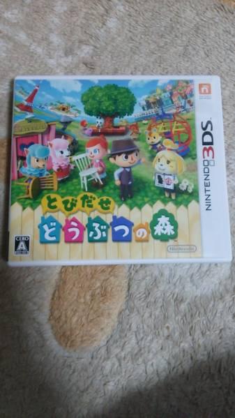 とびだせどうぶつの森 3DSソフト グッズの画像
