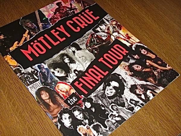 パンフ/モトリークルー/FINAL TOUR/MOTLEY CRUE