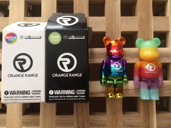 ORANGE RANGE BE@RBRICK 100%(ベアブリック・オレンジレンジ) ライブグッズの画像