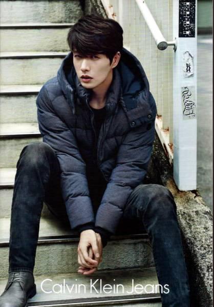 ★パク・ヘジン★韓国「Calvin Klein」 2014年 冬 カタログ