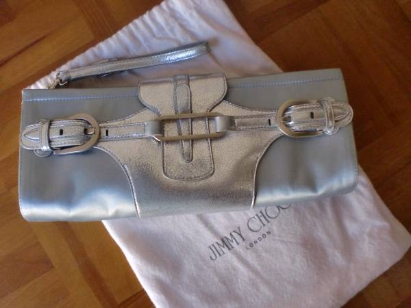 Jimmy Choo Isetan Purchase Jimmy Choo Clutch Bag Blue Silver Shi & Jimmy Choo & Others