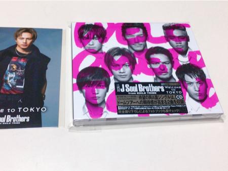三代目JSoulBrothersWelcame to TOKYO CD登坂広臣フォトカード