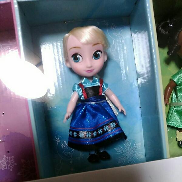 エルサ アニメータードールミニ ディズニー アナと雪の女王 ディズニーグッズの画像