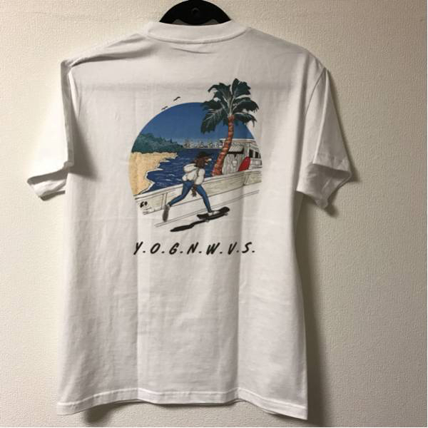 新品未使用 Yogee New Waves バンド Tシャツ never young beach