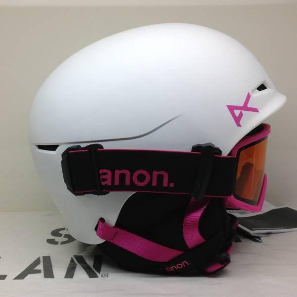 anon アノン 2017 【DEFINE】 白 L/XL(52-55cm/BOA FIT) キッズ ヘルメット&ゴーグル 正規 SALE!_画像2