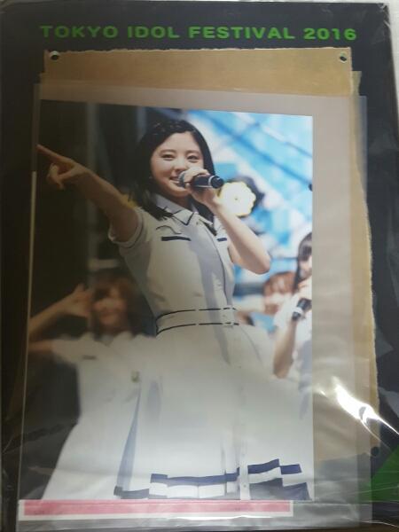 神の手 欅坂46 鈴本美愉 TIFフォトフレーム  ライブ・握手会グッズの画像