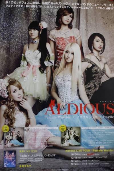 ★B2大 非売品ポスター『ALDIOUS アルディアス』