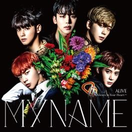 MYNAME 12/7発売『ALIVE~Always In Your Heart~』通常盤