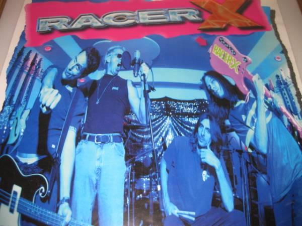 送料無料レーサーXポスター Racer X/ポールギルバート99年当時物