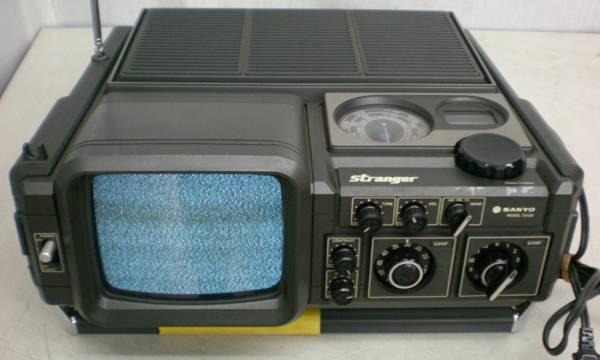 ■■■1977年製 サンヨー白黒テレビ受信機 モデルT5100■■■