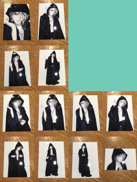 Versailles KAMIJO ハロウィン2016 フォトセット 12枚ブロマイド