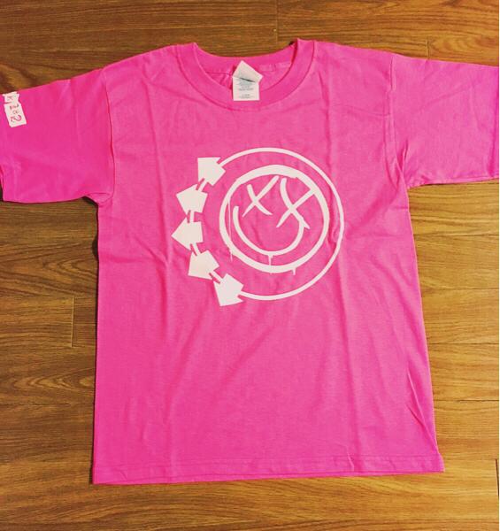 レア blink182 ロックTシャツ ピンク 未使用