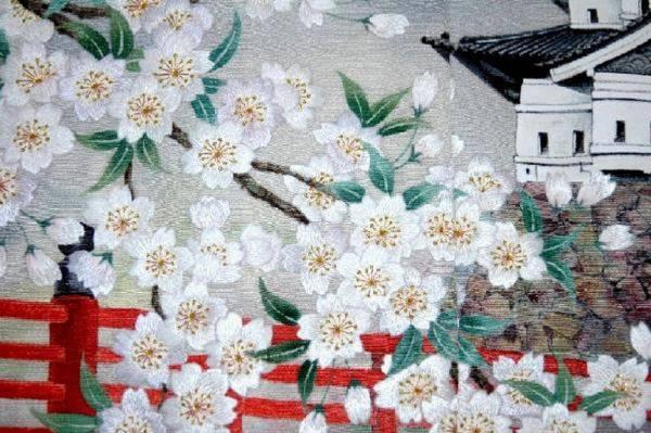 ◆新品正絹訪問着◆一品物◆手刺繍の訪問着オリジナルNO7_画像2