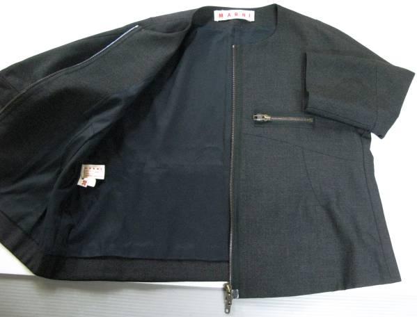 マルニ MARNI:ダブルジップ ウール ジャケット jacket_画像3