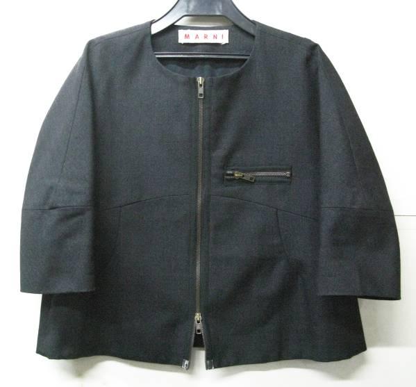 マルニ MARNI:ダブルジップ ウール ジャケット jacket_画像1