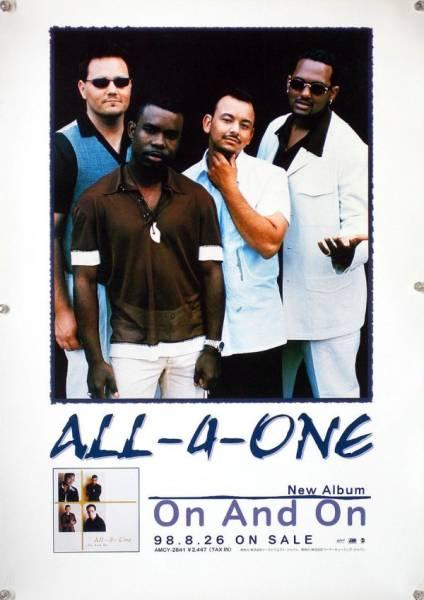 ALL-4-ONE オール・フォー・ワン B2ポスター (2C18005)