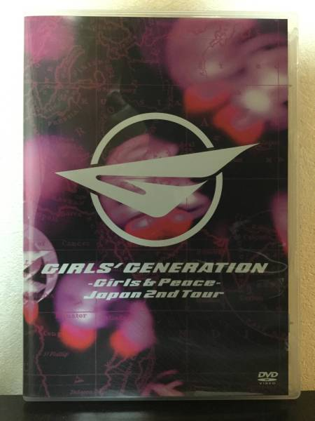 【美品】少女時代◇Girls&Peace◇Japan 2nd Tour◇DVD