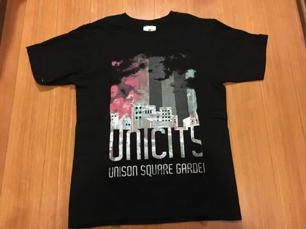 UNISON SQUARE GARDEN Tシャツ 黒 1回着用