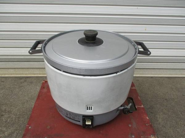 【限定SALE!】y1139-7 業務用 パロマ ガス炊飯器 PR-6DSS-1 2007年製 都市ガス 米 炊飯 店舗用品 中古 厨房_画像1