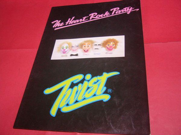 ツイスト TWIST パンフ 1980年 ハートロックパーティ 世良正則