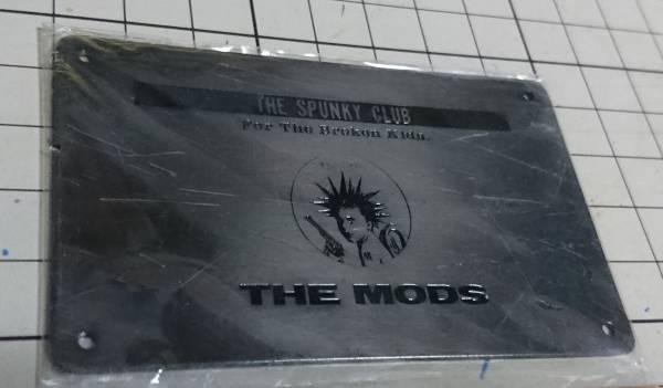 〒込)THE MODS FC会員証(91年頃)ザ・モッズ