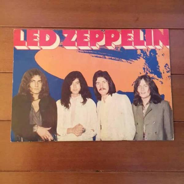 Led Zeppelin 初来日 パンフ レッド・ツェッペリン 送料無料