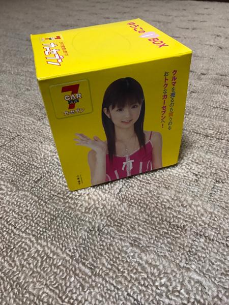 小倉優子 レアティッシュ箱 美品