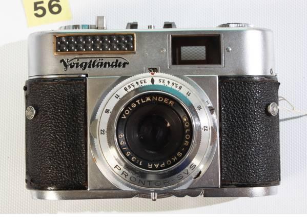 Y56 クラシックカメラコレクター用 フォクトレンダー VITO BL フィルムカメラ _画像1