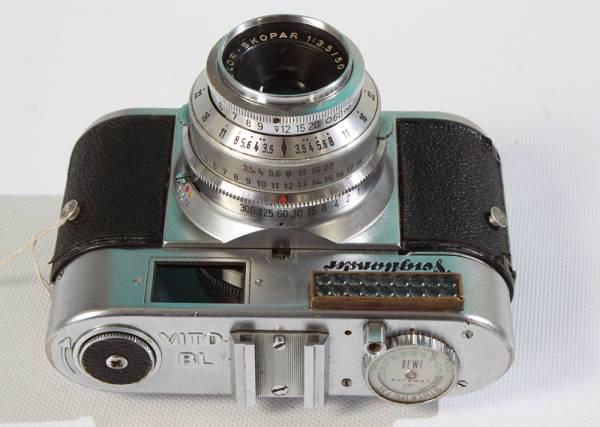 Y56 クラシックカメラコレクター用 フォクトレンダー VITO BL フィルムカメラ _画像2