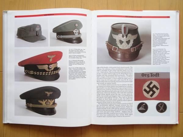 洋書◆ナチスドイツの制服 軍服 ユニフォーム資料集 本 WWII_画像2