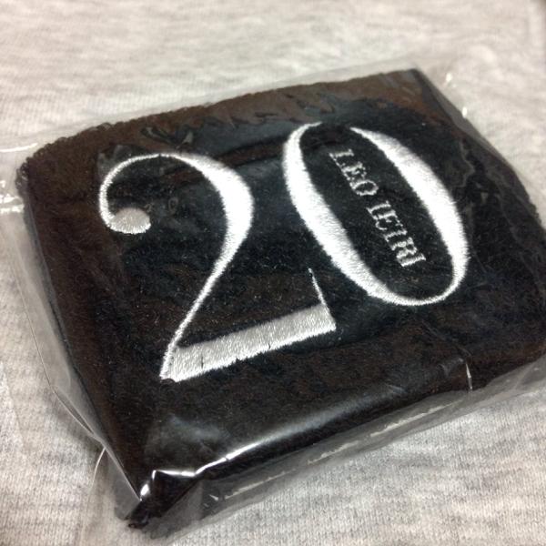 家入レオ ライブグッズ 20 リストバンド 新品未開封 ライブグッズの画像