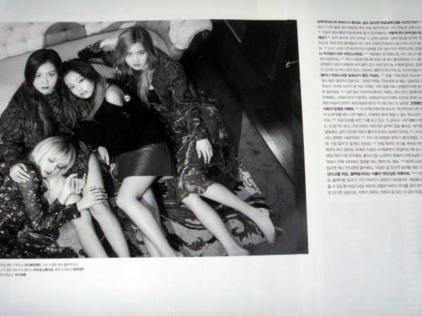 BLACKPINK ブラックピンク☆彡韓国雑誌切り抜き 8㌻+表紙ほか