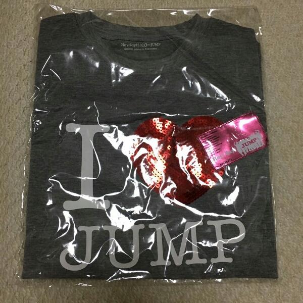 Hey!Say!JUMP ライブTシャツ Hey!Say!2010 JUMP コンサートグッズの画像