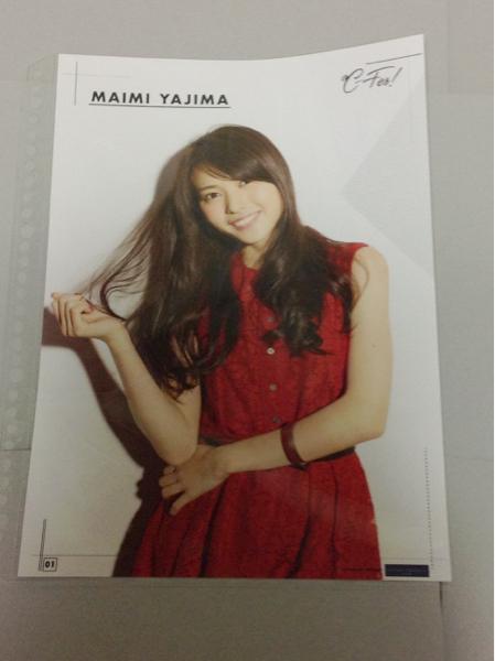 ℃-ute~℃-Fes!コレクションピンナップポスター矢島舞美・寄