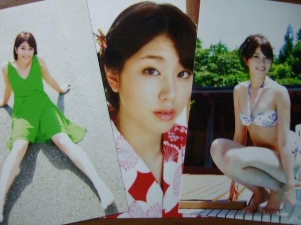 ★稲村亜美セクシー生写真3枚セット イベント限定商品