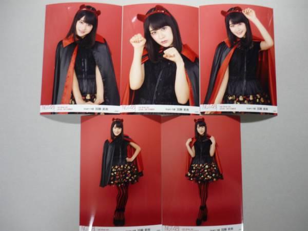 NGT48 加藤美南 net shop限定 10月 生写真 コンプ 送料62円 ライブグッズの画像